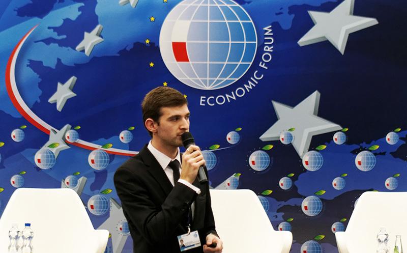 Grzegorz Nieradka panelist during X Economic Forum Europe – Ukraine