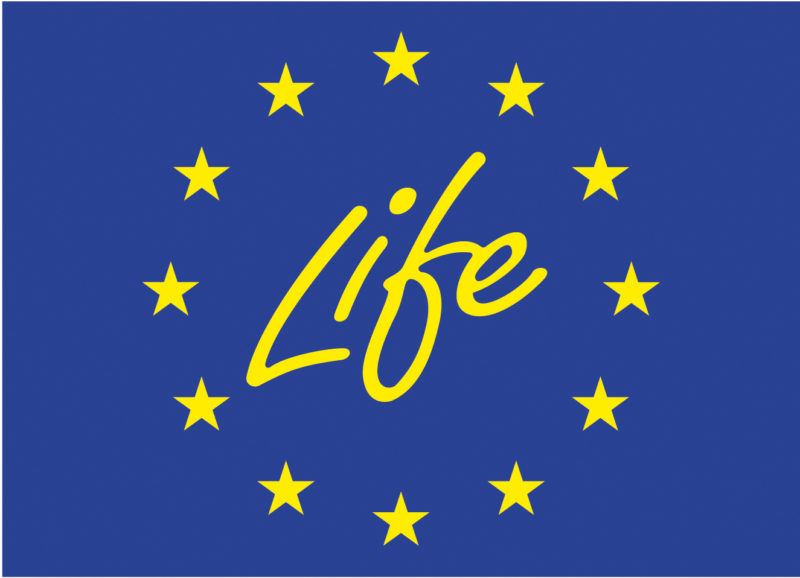Logo projektu Life