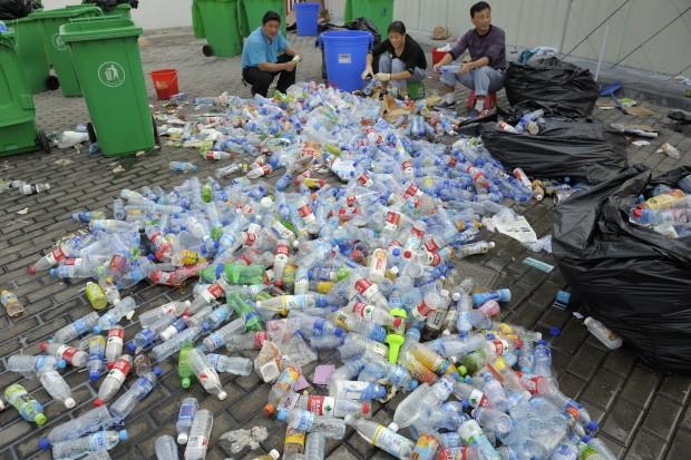 W morzu odpadów