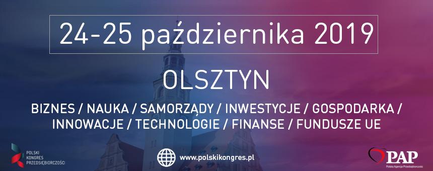VII Polski Kongres Przedsiębiorczości w Olsztynie