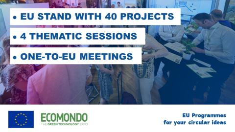 EU Programmes for your circular ideas
