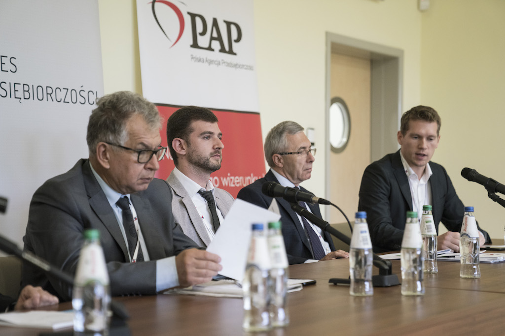 Debate during the 7th edition of the Polish Entrepreneurship Congress